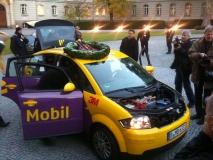 Reichweiten Weltrekord für Elektroautos über 605 km im Audi A2 electric
