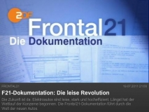 ZDF F21-Dokumentation: Die leise Revolution