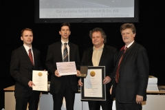 Auszeichnung mit dem Bayrischen Staatspreis für das Handwerk 2012